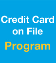 Credit Card on File Program